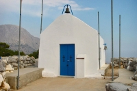 Foto de Small chapel on Hydra - Greece