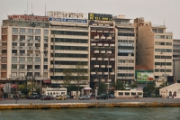 Foto van Buildings in Piraeus, the port of Athens - Greece