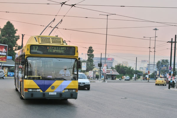 Bus in Piraeus
