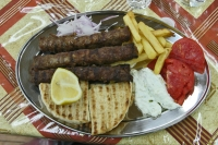 Click to enlarge picture of Food in Greece