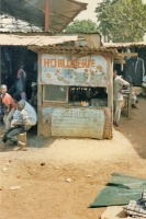 Foto van Watch shop in Guinean village - Guinea