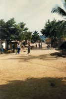 Photo de Street in Guinean village - Guinea