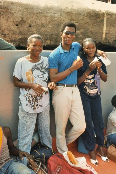 Send picture of Young Guinean people from Guinea as a free postcard