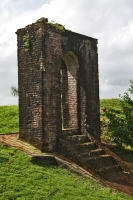 Foto van Old gate to Fort Kyk Over Al - Guyana