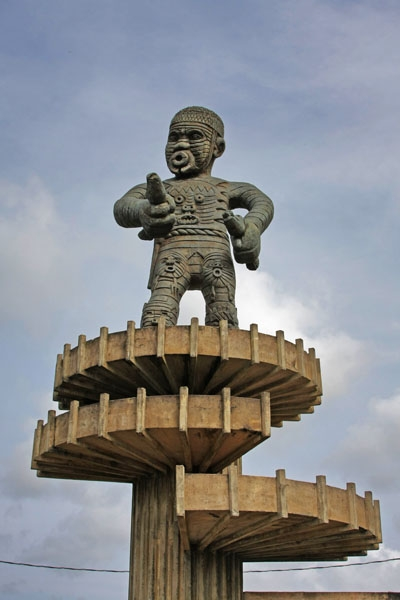 Send picture of Statue of Cuffy at the 1763 Monument in Georgetown from Guyana as a free postcard