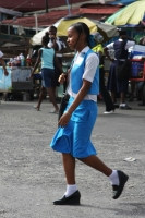 Foto de School girl in Georgetown - Guyana