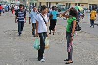 Picture of People in the streets of Georgetown - Guyana
