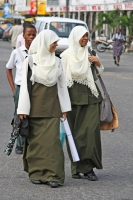 Picture of Muslim women in Georgetown - Guyana