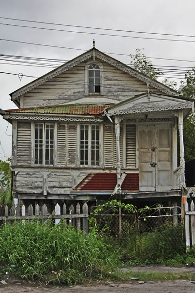 Send picture of Typical Guyanese house from Guyana as a free postcard