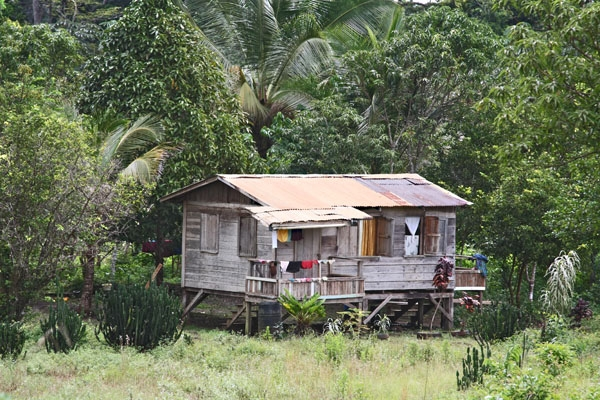 Send picture of House in central Guyana from Guyana as a free postcard