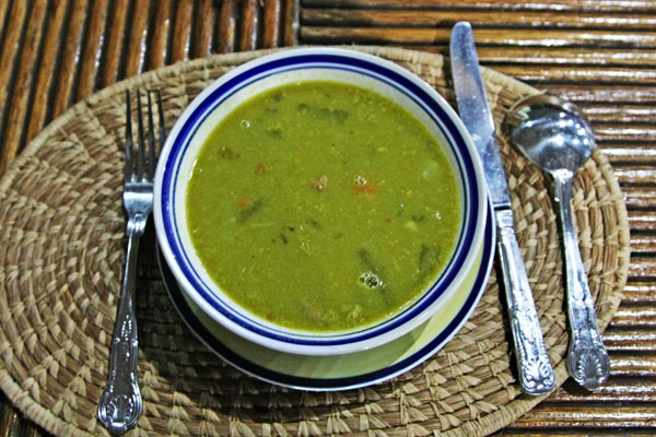 Send picture of Vegetable soup from Guyana as a free postcard