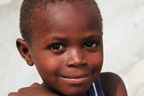 Boy from Port-au-Prince