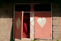 Photo de Detail from a house in Milot - Haiti