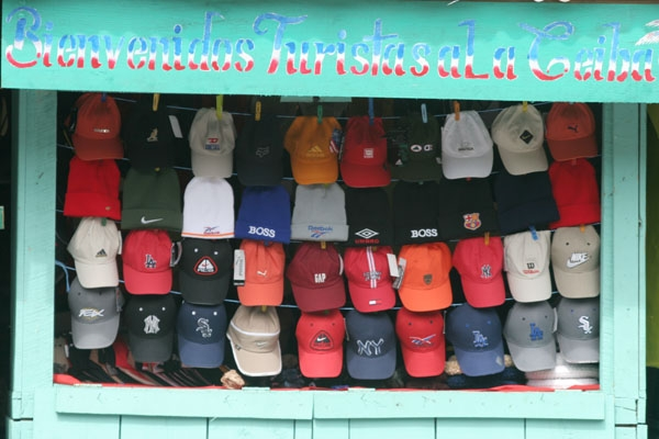 Send picture of Cap shop in La Ceiba from Honduras as a free postcard