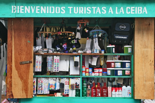 Enviar foto de Shop in La Ceiba de Honduras como tarjeta postal eletr&oacute;nica