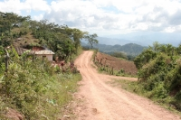 Foto di Mountain road in western Honduras - Honduras