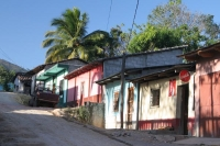 Foto di Colorful houses in Copán - Honduras
