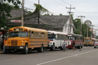 Picture of Honduran buses - Honduras