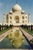 Foto van The Taj Mahal in Agra - India