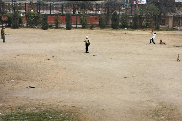 Send picture of Cricket match in Delhi from India as a free postcard