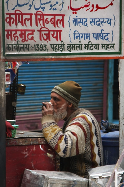 Shopkeeper in Delhi