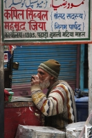 Picture of Shopkeeper in Delhi - India
