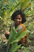 Foto di Woman on Flores island - Indonesia
