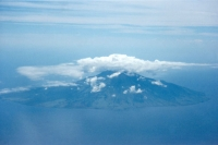 Foto di One of the many islands of Indonesia seen from the sky - Indonesia