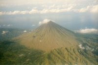 Photo de Volcano on Flores island - Indonesia