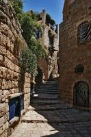 Picture of Stairs in a Jaffa street - Israel