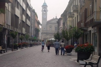 Photo de Street in Saronno - Italy