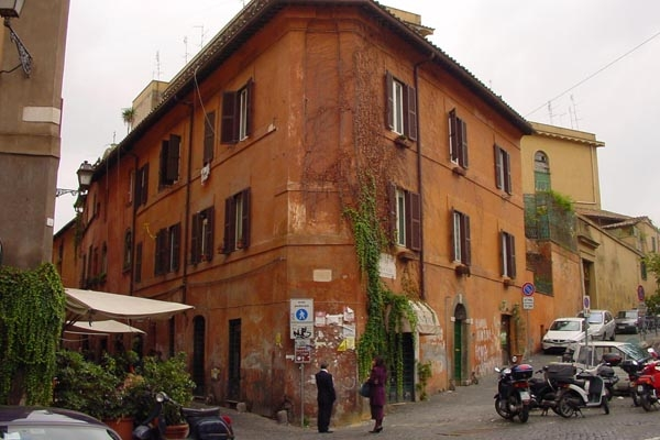  House in Trastevere, Rome