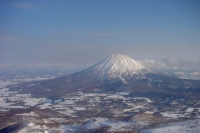 Photo de Ezo Fuji Mount Yotei-san seen from Niseko, Hokkaido - Japan