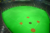 Photo de Baseball field in Sapporo Dome - Japan