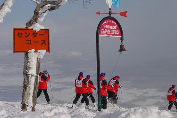 Send picture of Ski school in Niseko from Japan as a free postcard