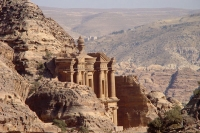 Foto van Jordans trademark, the ancient city of Petra - Jordan