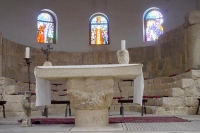 Photo de Inside Mount Nebo monastery - Jordan