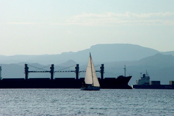Send picture of Ships in Aqaba from Jordan as a free postcard