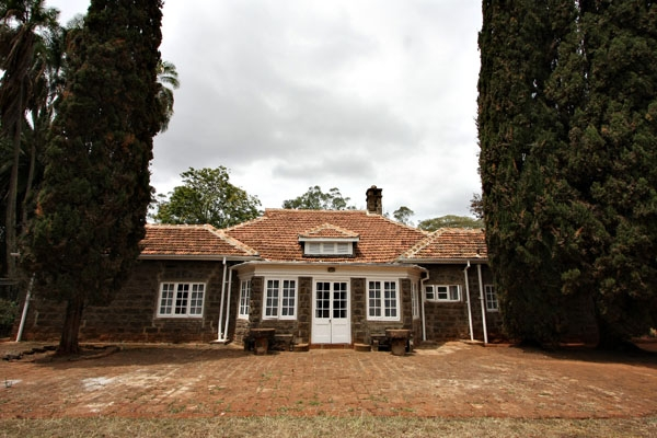 Send picture of Front of Karen Blixen house from Kenya as a free postcard