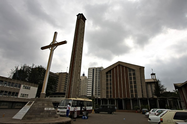 Envoyer photo de Cathedral of Nairobi de Kenya comme carte postale &eacute;lectronique