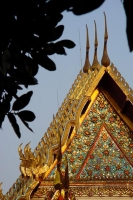 Photo de Rooftop of Wat Xieng Thong - Laos