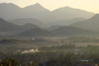Photo de View over mountains in Laos - Laos