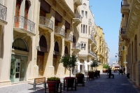 Picture of Street in the modern Central District in Beyrut - Lebanon