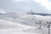 Photo de Ski lifts at Faraya Mzaar  - Lebanon
