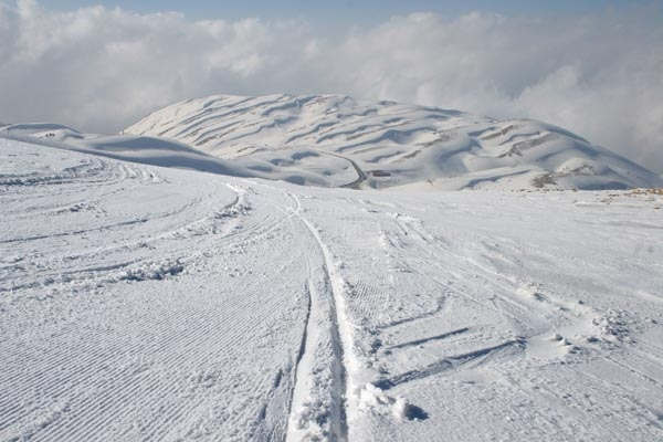  Slopes at Faraya Mzaar ski area