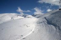 Photo de Slopes at the beautiful Faraya Mzaar ski area - Lebanon