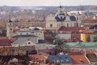 Foto van View over Vilnius - Lithuania