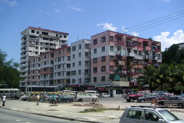 Send picture of Apartment building in Kota Kinabalu from Malaysia as a free postcard
