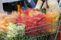 Picture of Fresh fruit is popular as a snack in Mexico - Mexico