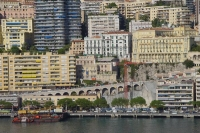 Picture of Monaco sea front houses - Monaco
